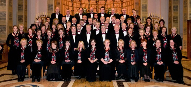 The 2011 Choir in the Cathedral of Christ the King, Mullingar